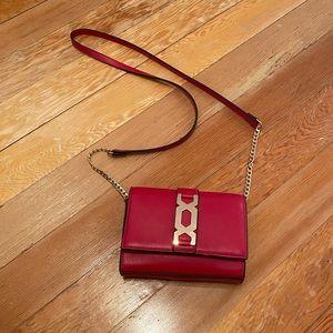 TOPSHOP Mini red purse
